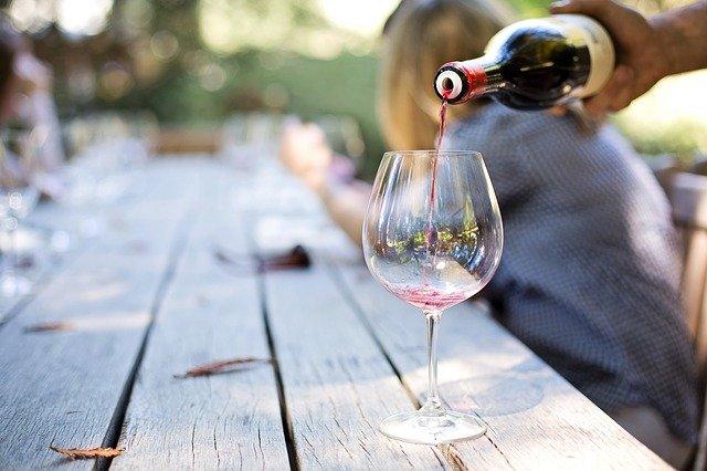 Alcool dans le vin rouge